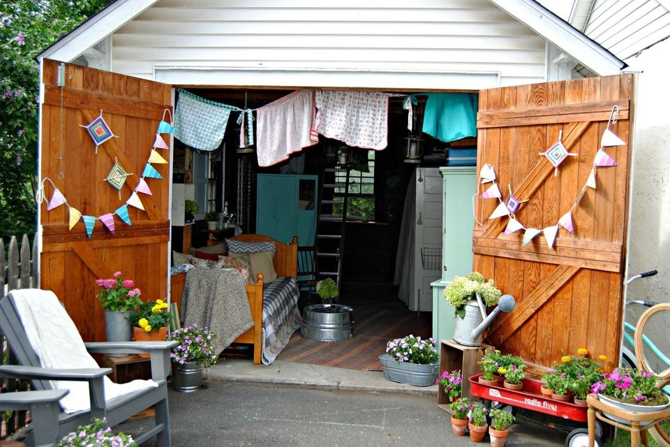 Backyard sheds design ideas that you will love 10