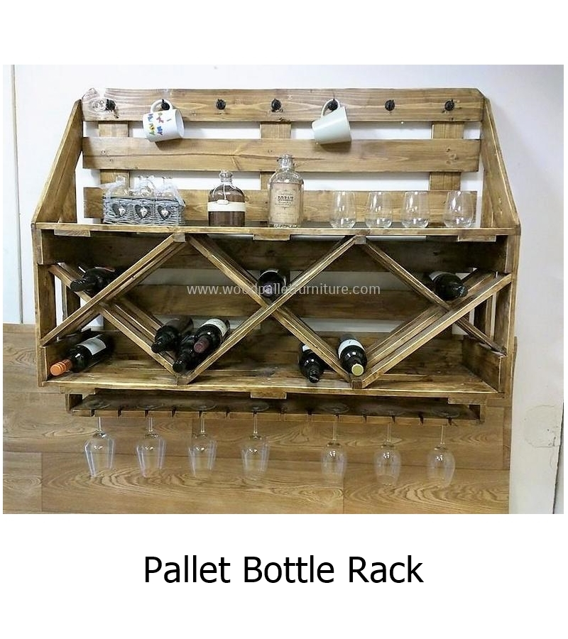 Pallet bottle rack 1