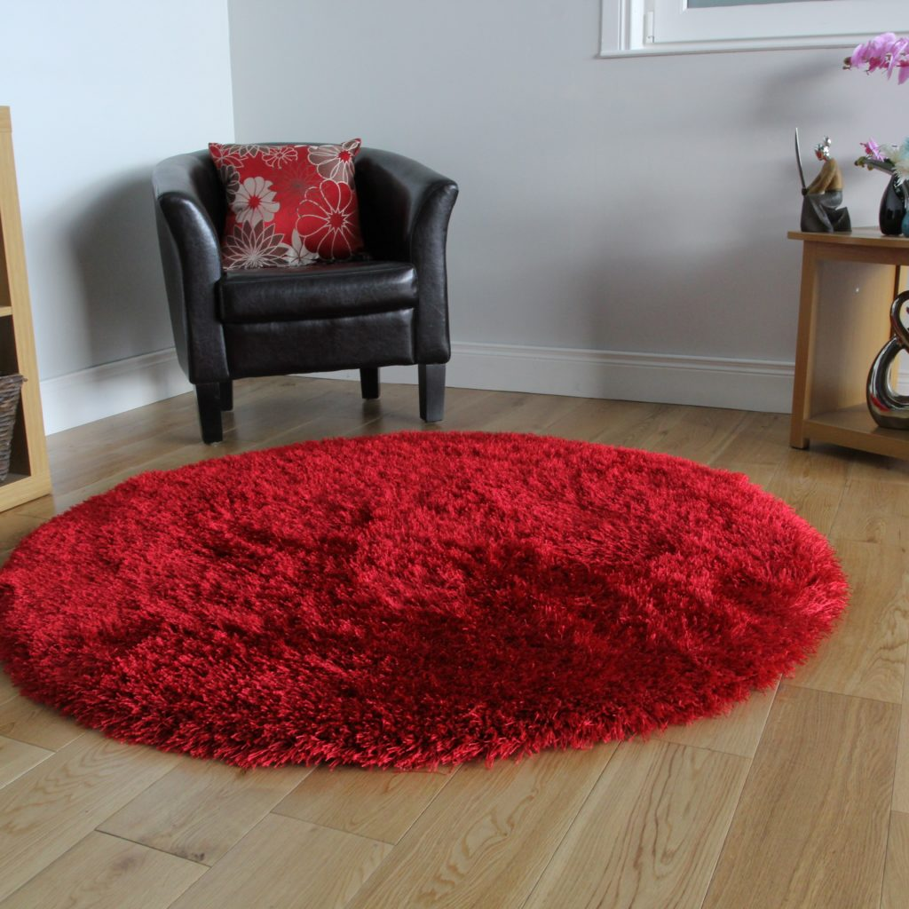 Rooms that will inspire you to try with a round rugs 5