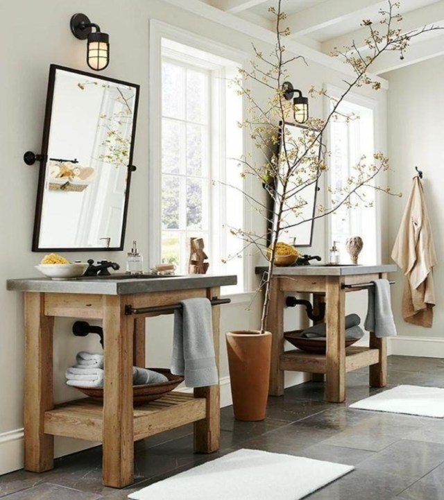 Rustic bathroom vanities 3