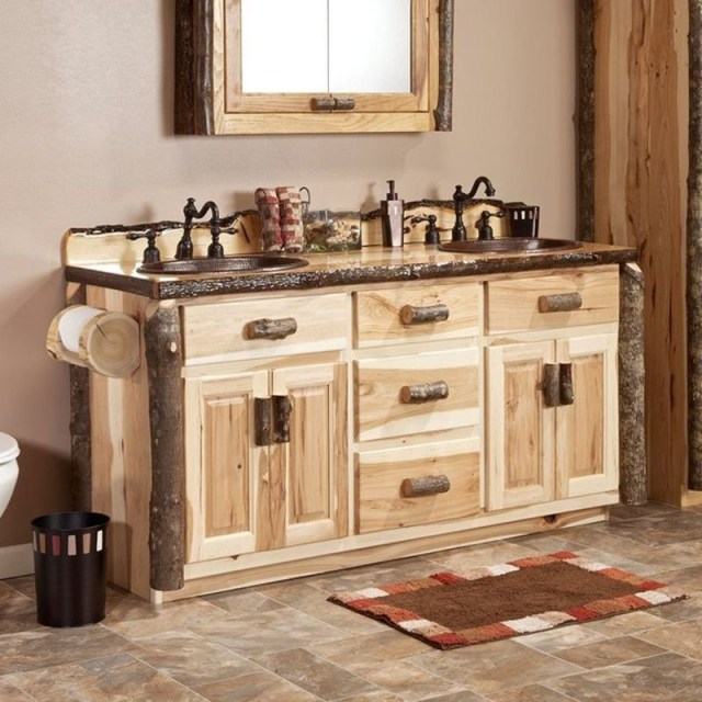Rustic bathroom vanities 5