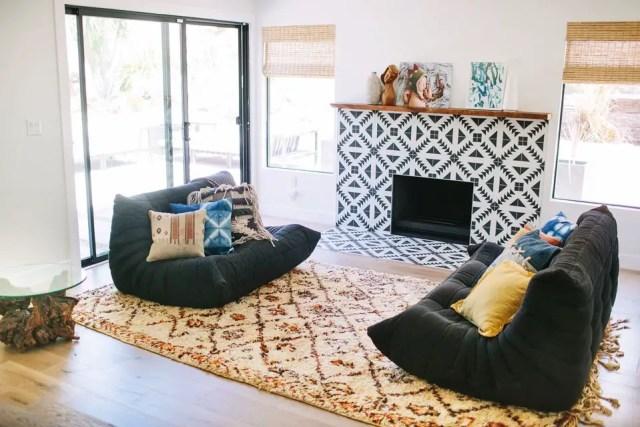 Tiled fireplace design ideas 6