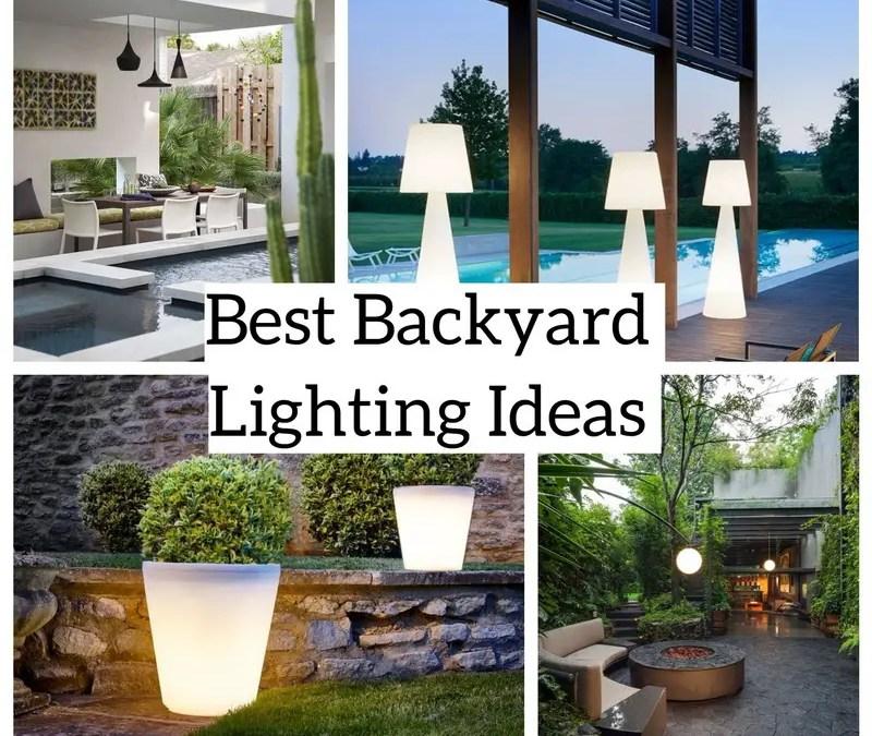 8 Best Backyard Lighting Ideas for Wonderful Outdoor