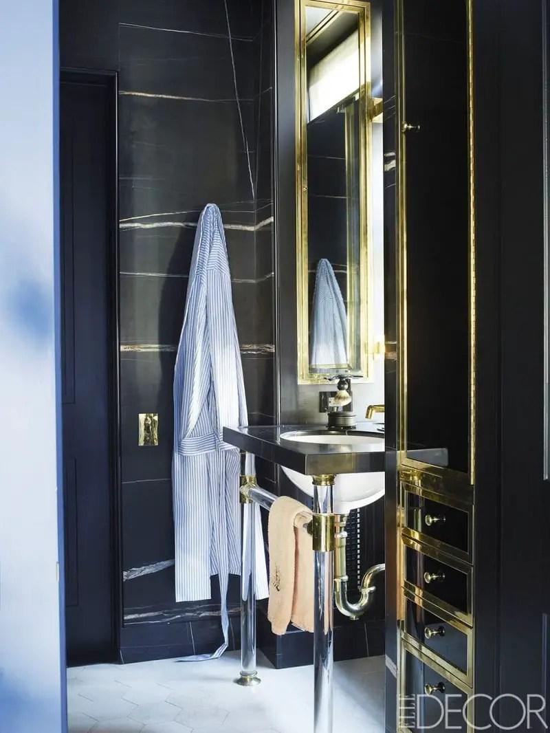 Black-gold-bathroom