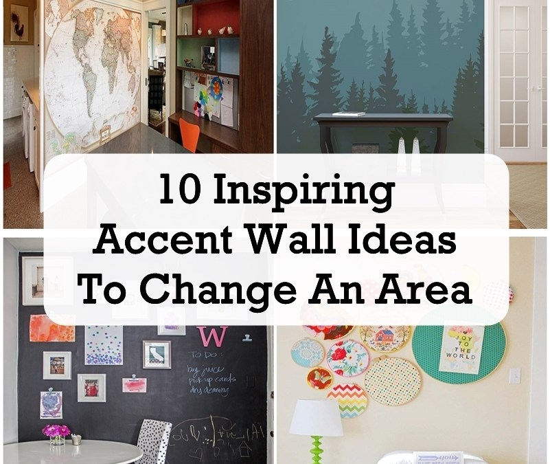 10 Inspiring Accent Wall Ideas To Change An Area