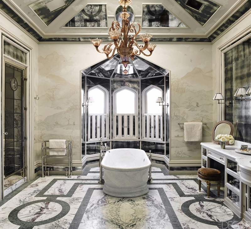 Luxurious-marble-bathroom