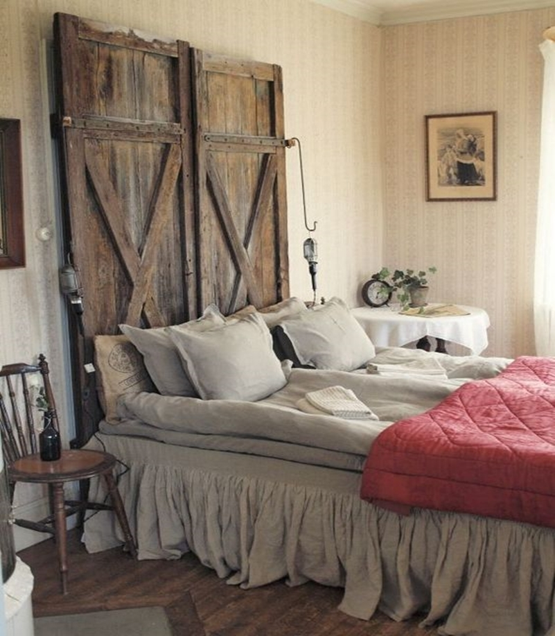 10 Artistic And Practical Repurposed Old Door Ideas