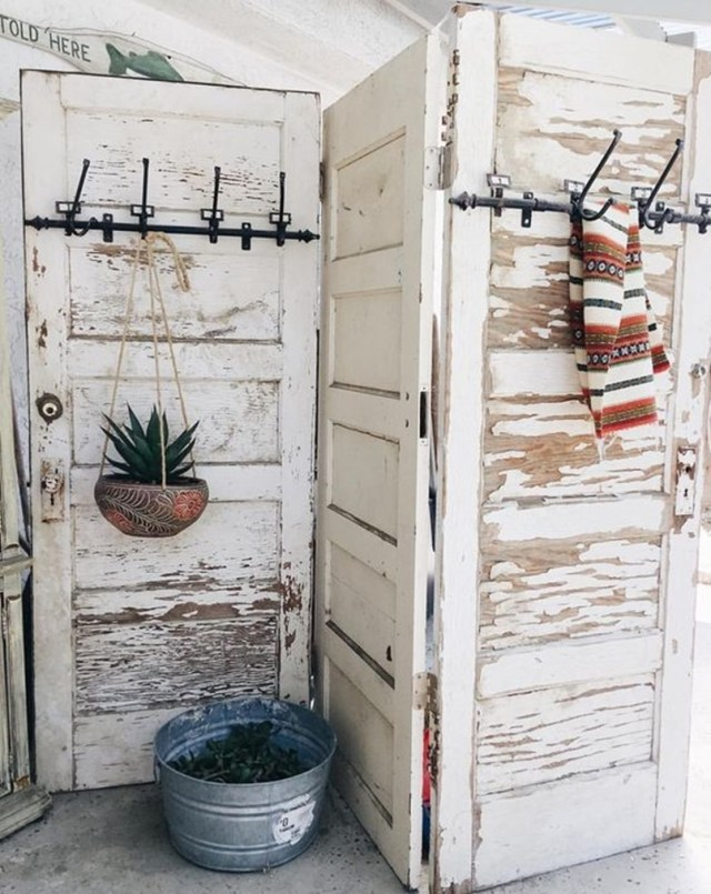 Repurposed old door 6-1