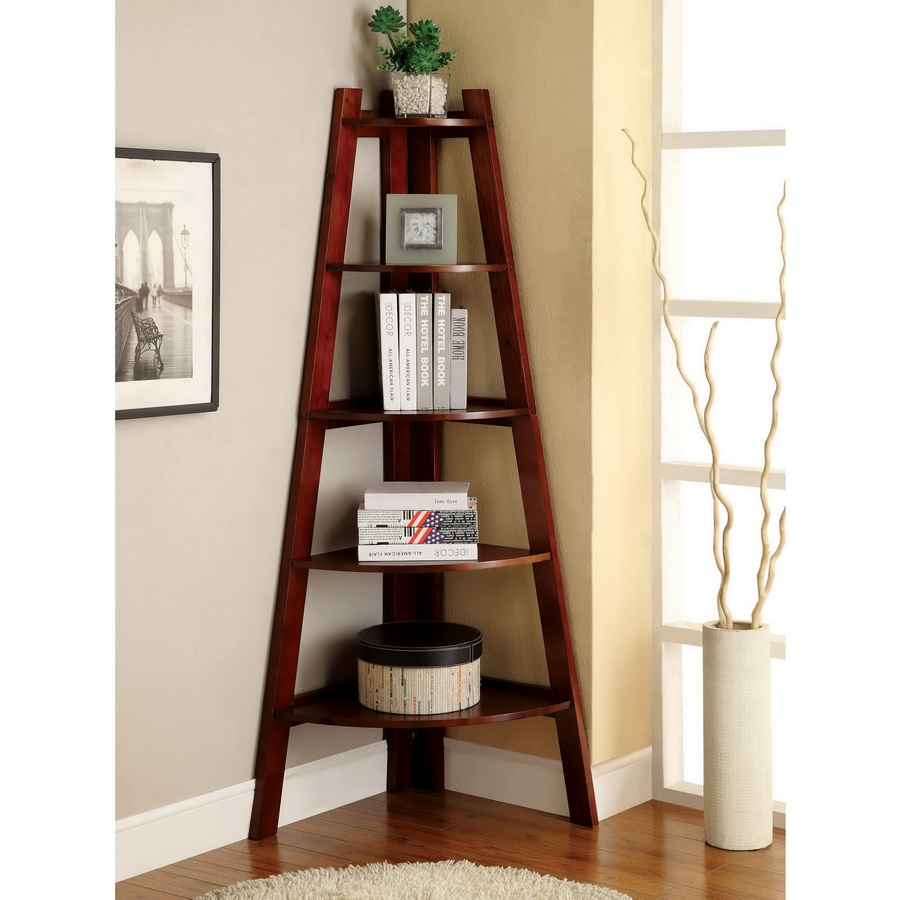 2. triangle shelves