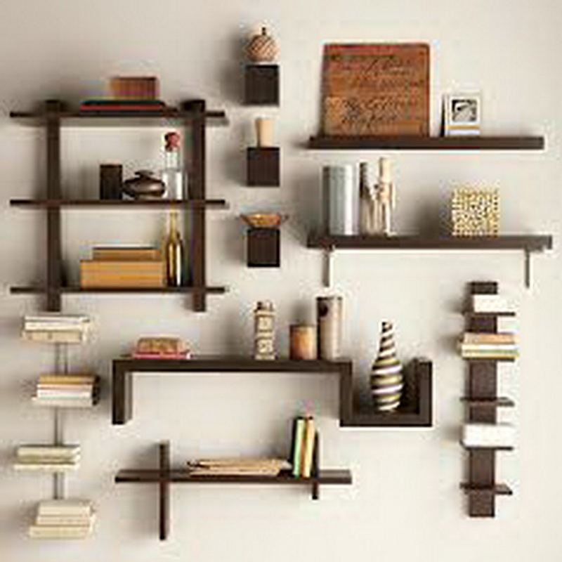 7. splendid wood shelves