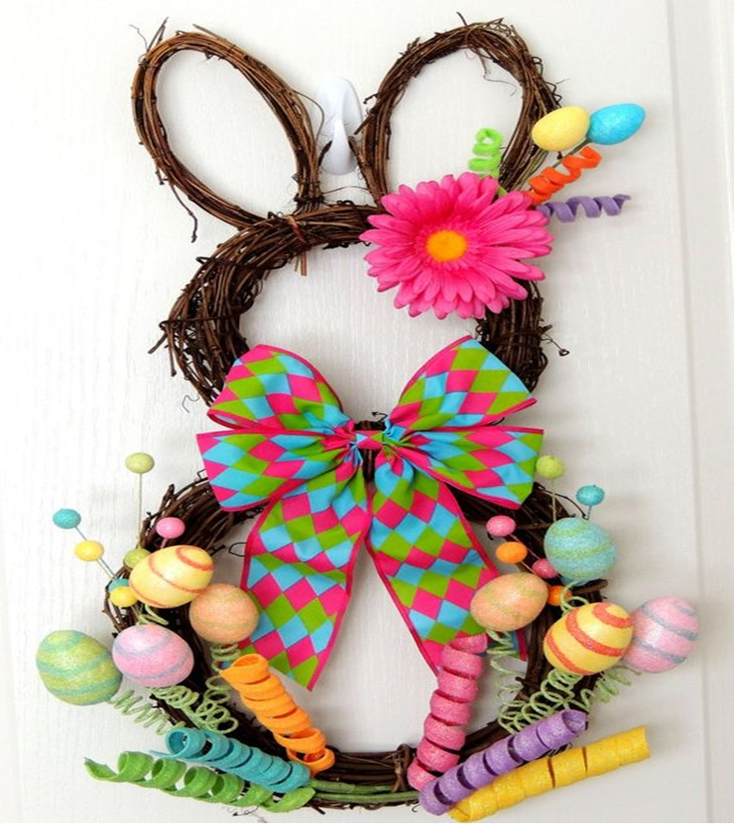 Easter wreath 4