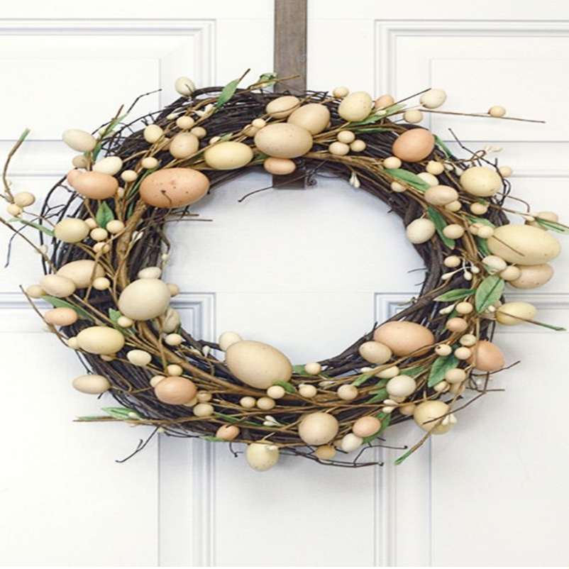 Easter wreath 9