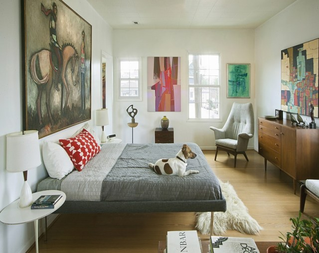 Mid century modern bedroom design ideas 6