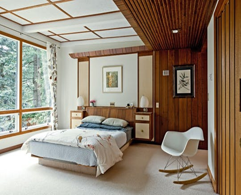 Mid century modern bedroom design ideas 7