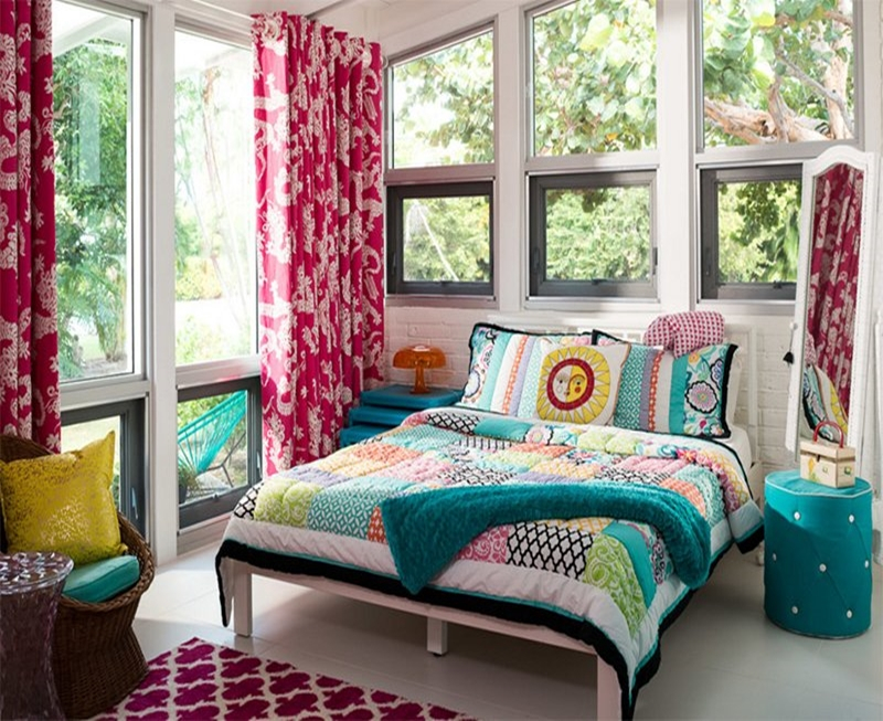 Mid century modern bedroom design ideas 8
