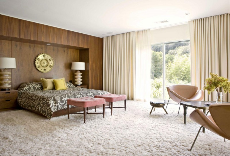 Mid century modern bedroom design ideas 9