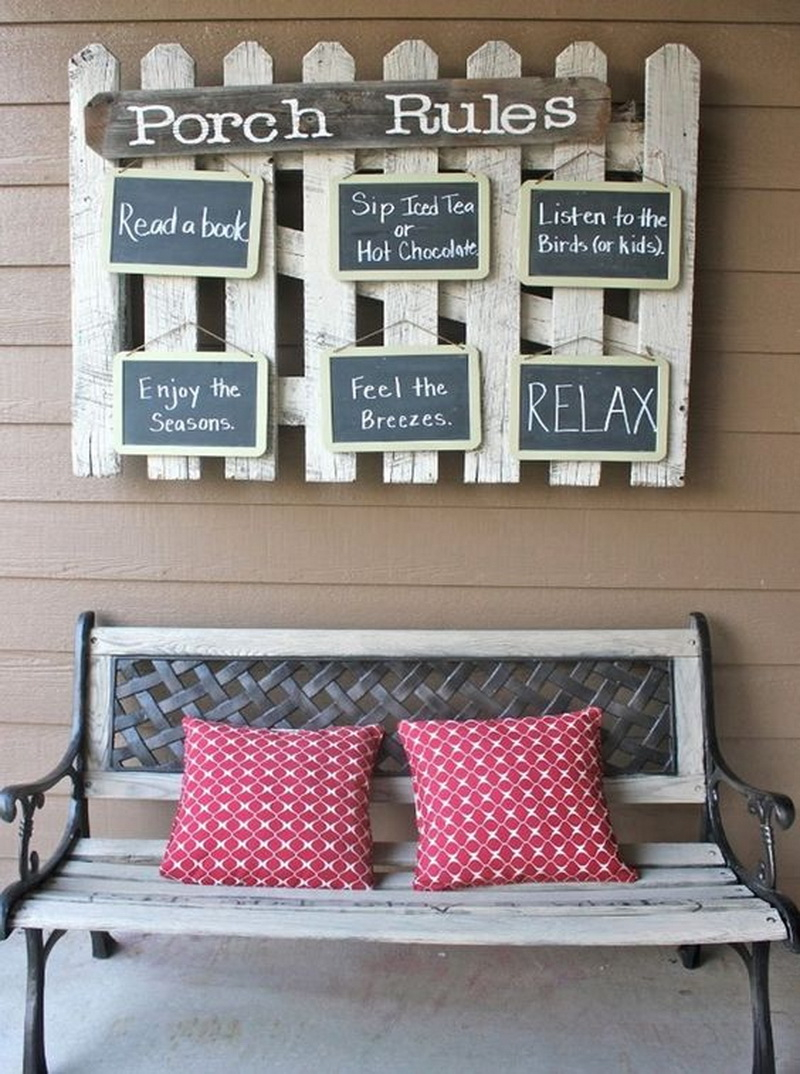 5. chalky porch rules