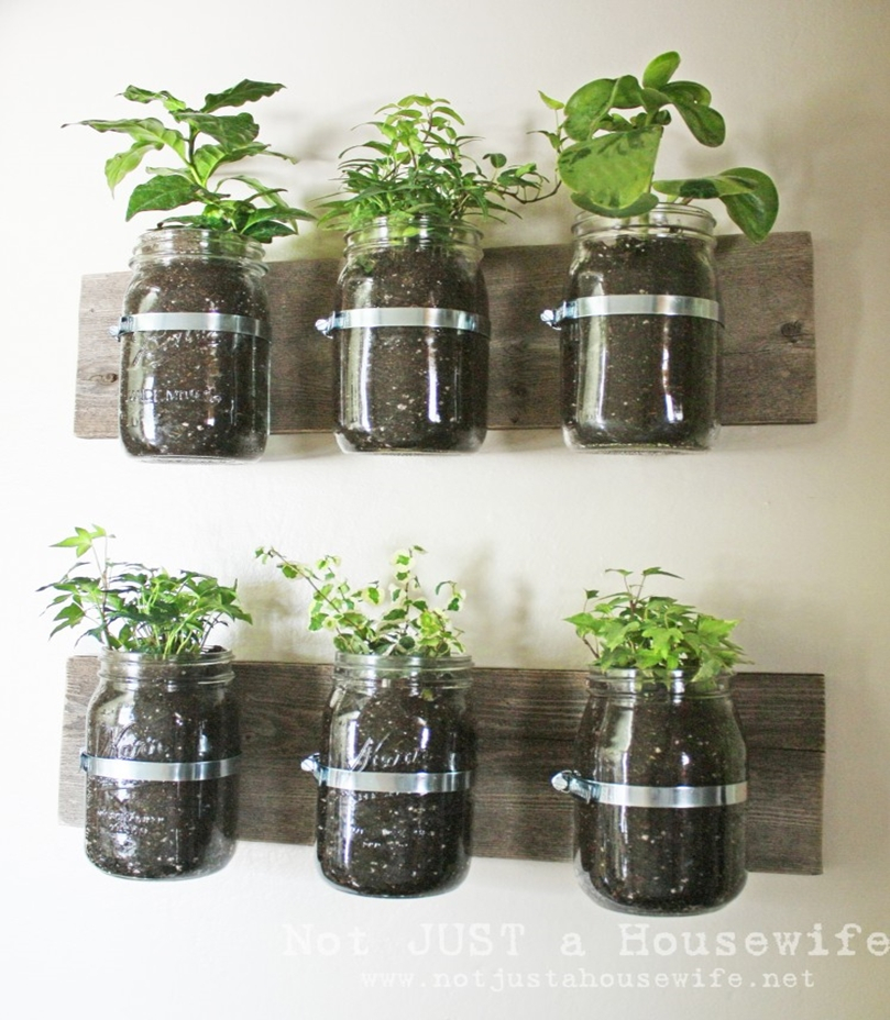 Mason jar spring decoration 5