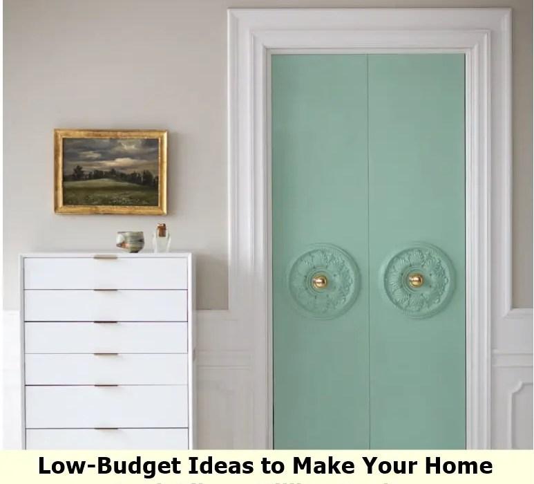 Upgrade plain closet doors