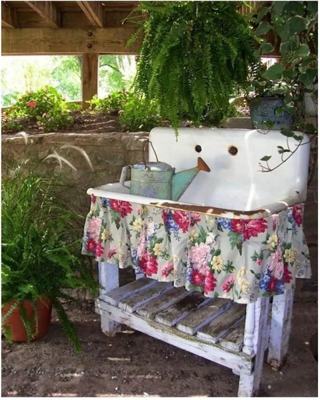 Vintage garden ideas 7
