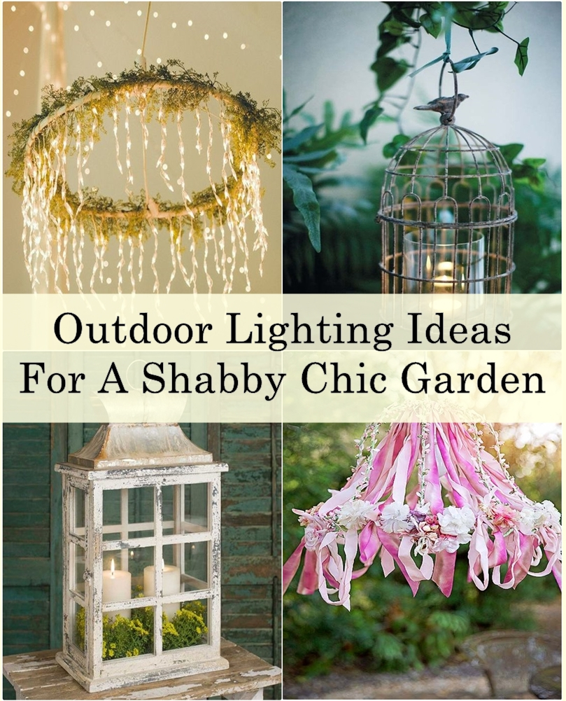 Outdoor lighting ideas for a shabby chic garden matchness shabby chic lighting 1 tile arubaitofo Gallery