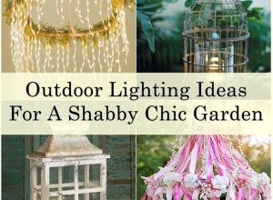 Shabby chic lighting 1-tile
