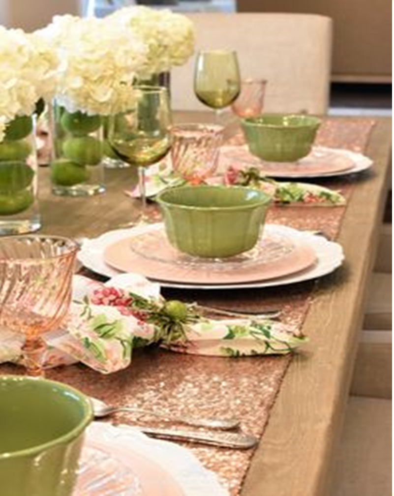 Spring table setting 3