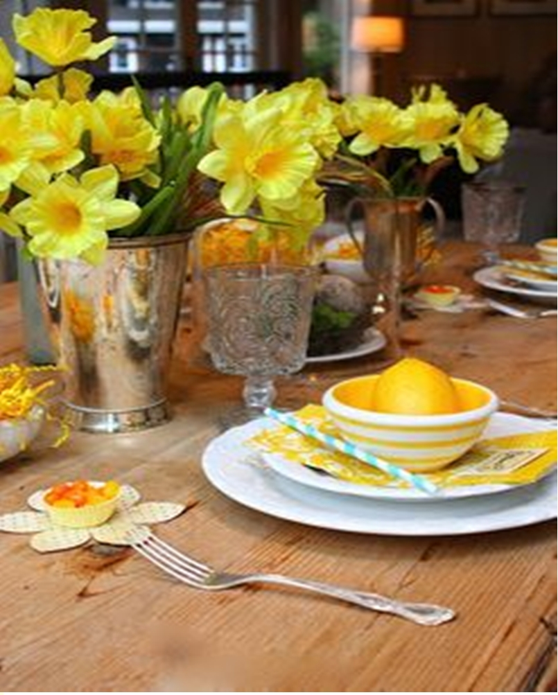 Spring table setting 7