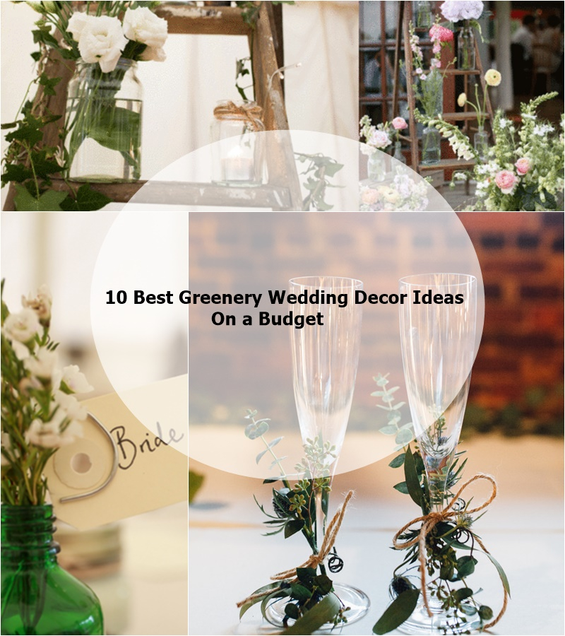 10 best greenery wedding decor ideas on a budget matchness junglespirit Choice Image