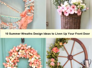 10 summer wreaths design ideas to liven up your front door