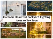 Awesome beautiful backyard lighting ideas to try soon