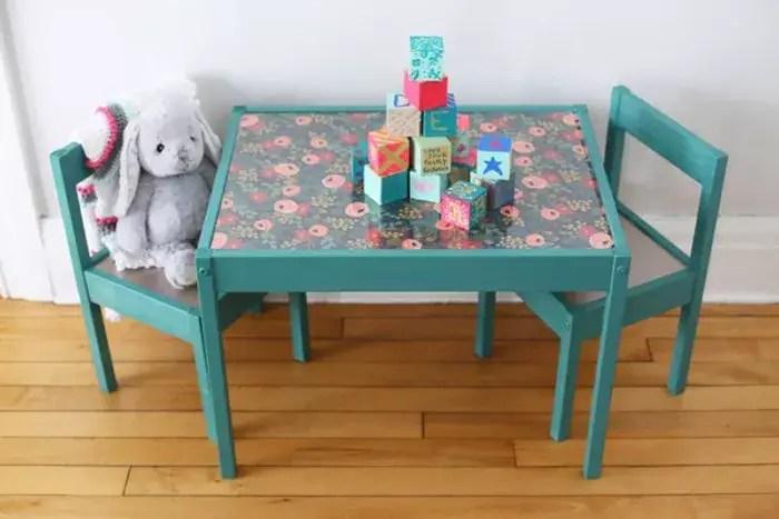Diy toddler table