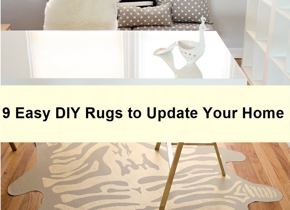 9 Easy DIY Rugs to Update Your Home