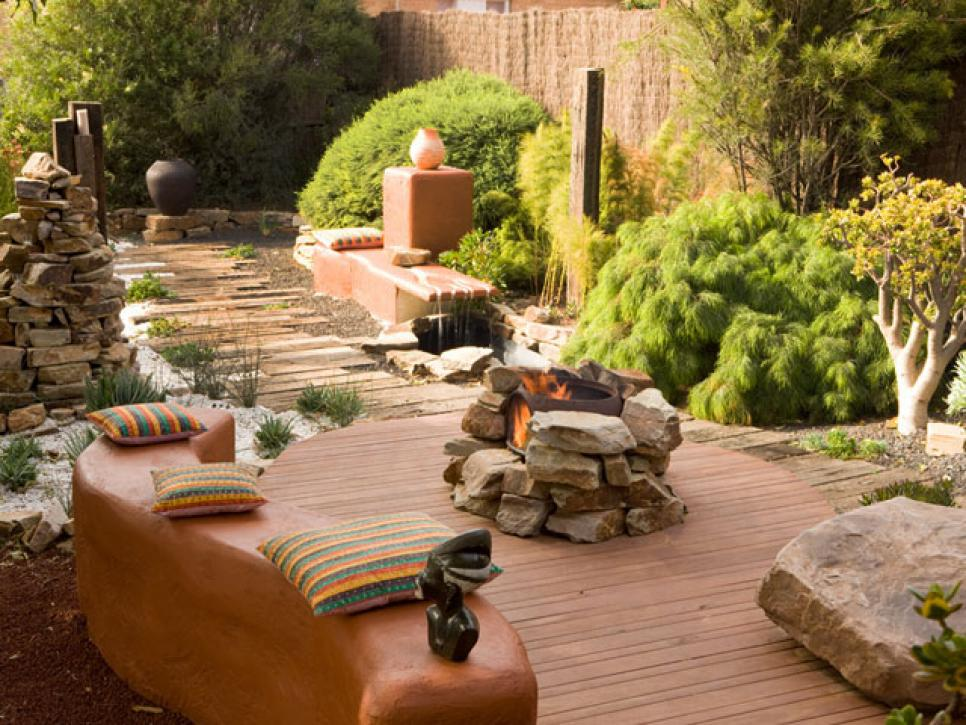 High style but low maintenance garden