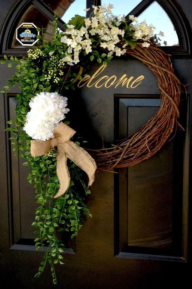 Oversized wreath