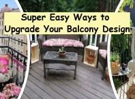 Super easy ways to upgrade your balcony design