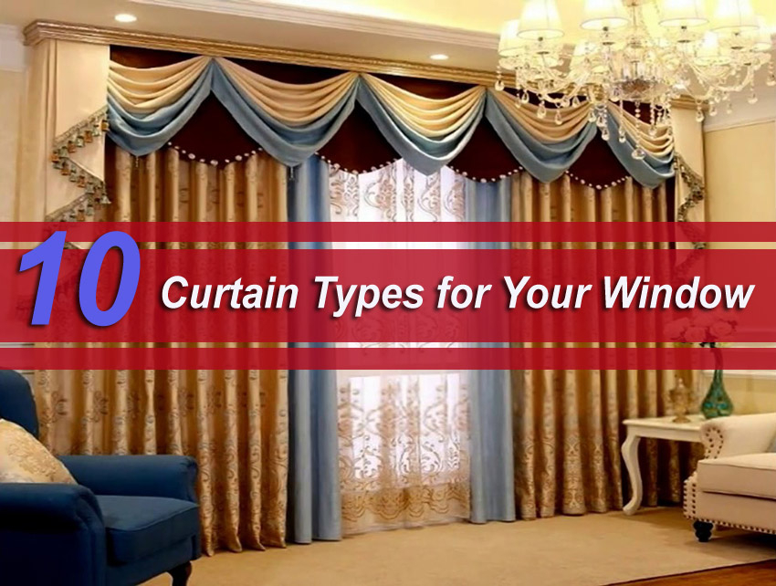 10 Curtain Types for Your Window