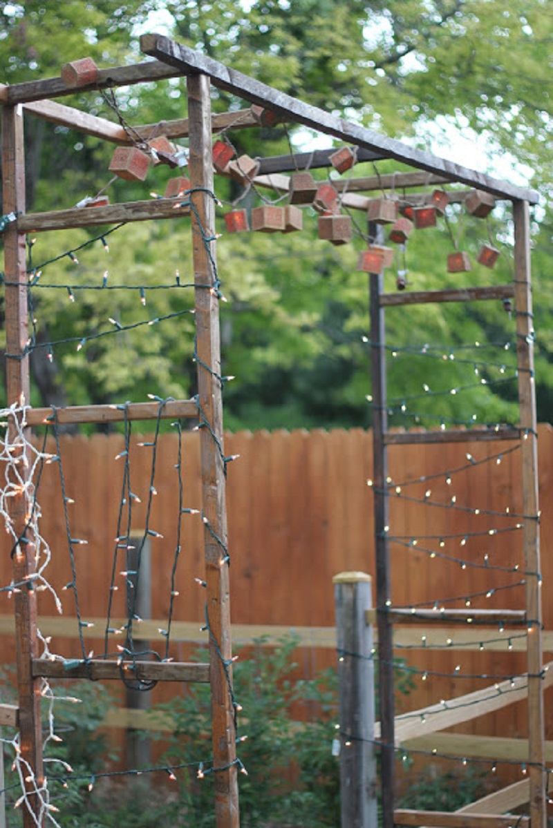 Rustic garden gate
