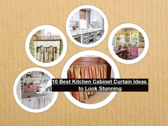 10 best kitchen cabinet curtain ideas to look stunning