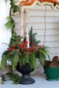 Adorable christmas porch décoration ideas 11