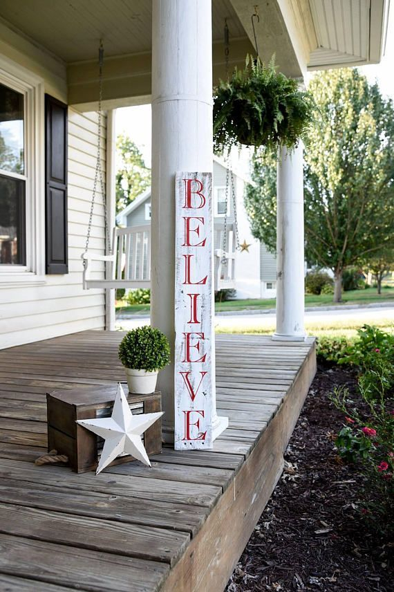 Adorable christmas porch décoration ideas 17
