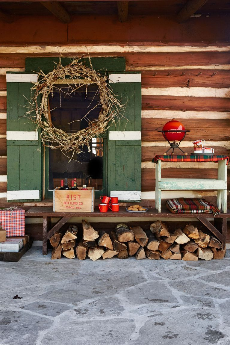 Adorable christmas porch décoration ideas 19