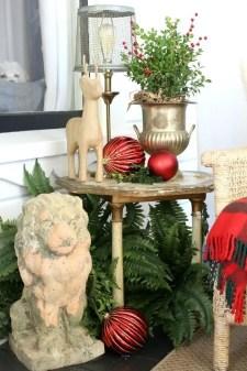 Adorable christmas porch décoration ideas 41