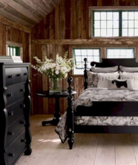 Classic and vintage farmhouse bedroom ideas 06