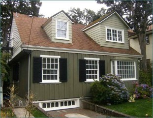 Exterior paint colors for house with brown roof 20