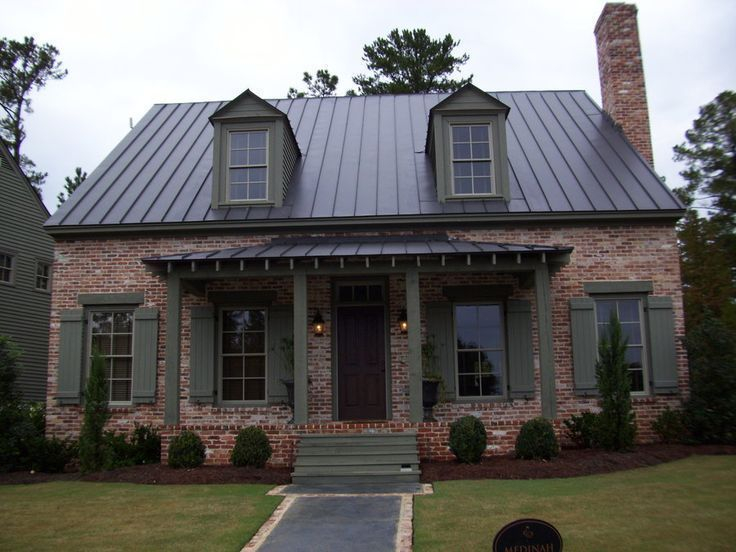 Exterior paint colors for house with brown roof 24