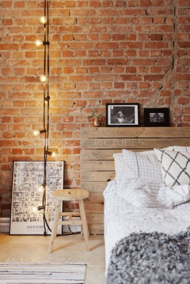 Awesome string light ideas for bedroom 56