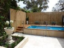 Bamboo fence ideas for small houses 10