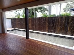Bamboo fence ideas for small houses 11