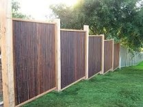 Bamboo fence ideas for small houses 12